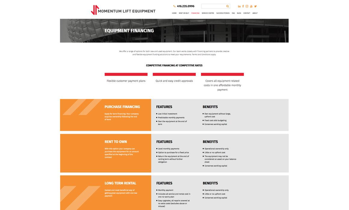 web page design vancouver