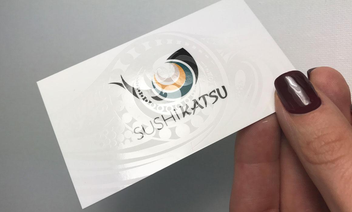 business card design for a restaurant