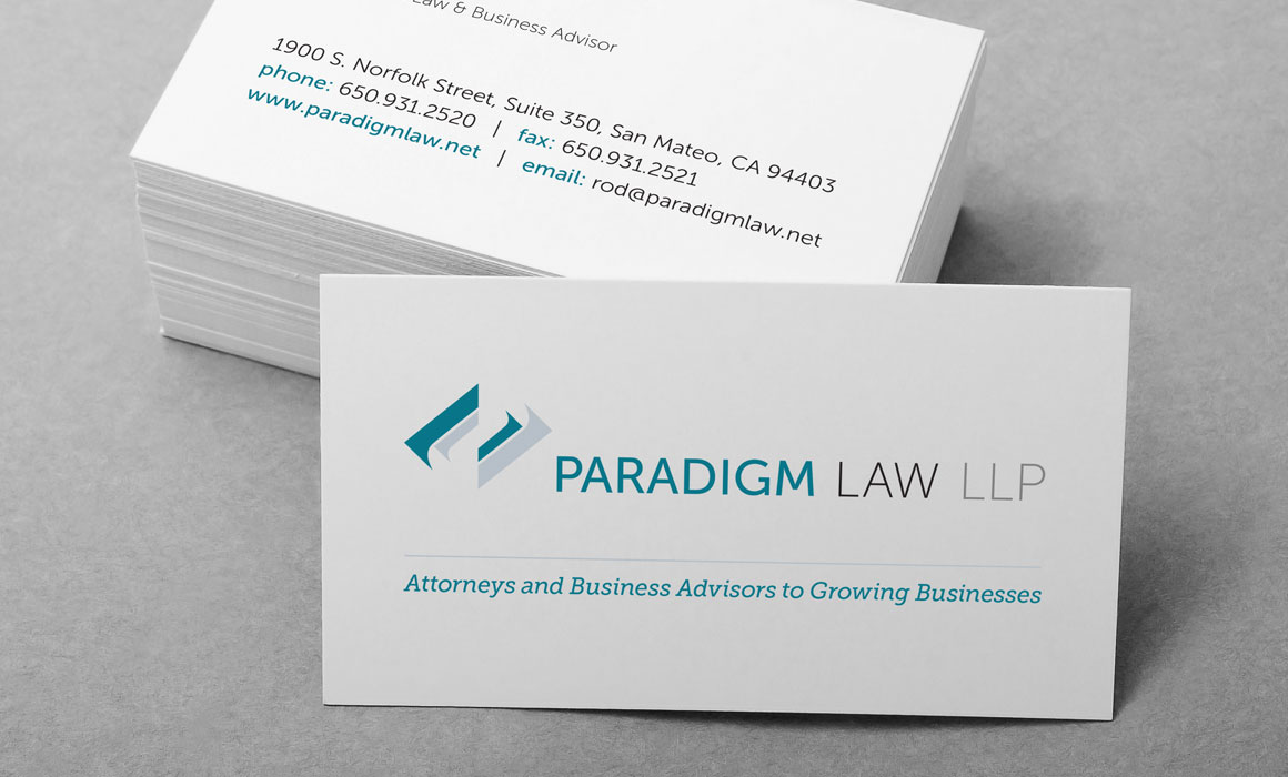 Collateral design for a law company