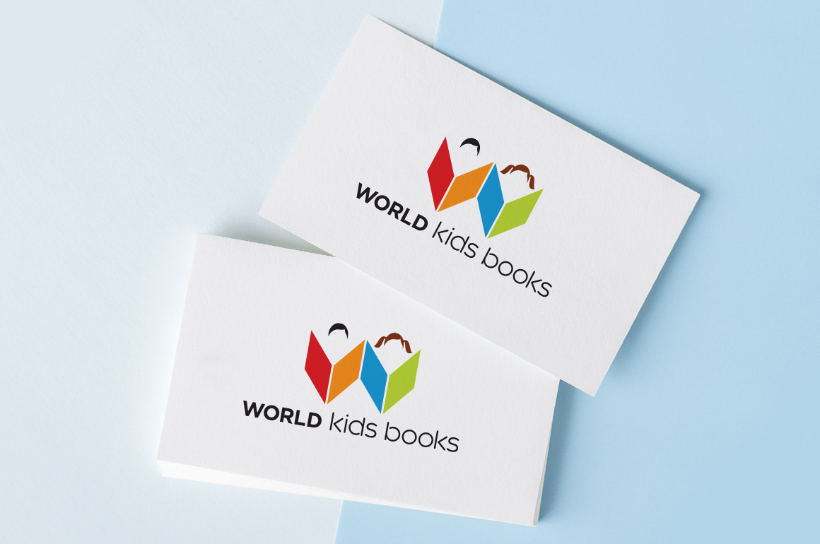 Logo design for a book store