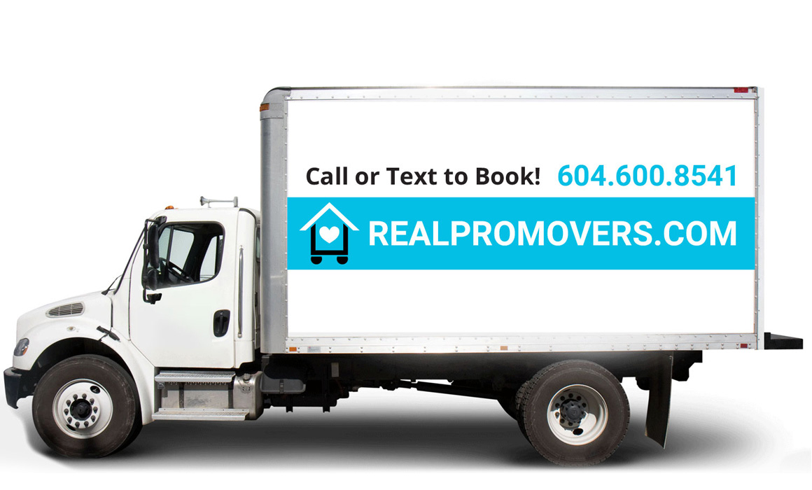 Car wrap for moving company