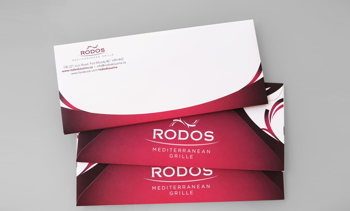 Collateral Design for Restaurant