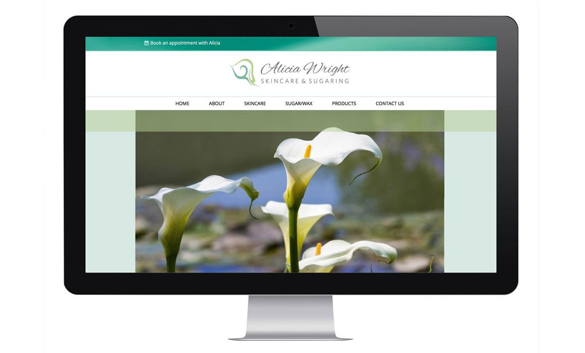 Website design for spa salon